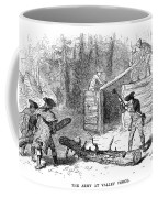 Valley Forge: Huts, 1777 Coffee Mug