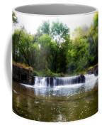 Valley Forge Pa - Valley Creek Waterfall  Coffee Mug