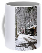 Valley Green In Winter Along Forbidden Drive Coffee Mug