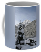 Valley In The Snow Coffee Mug