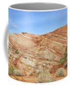 Valley Of Fire - Fire Wave Panorama Coffee Mug