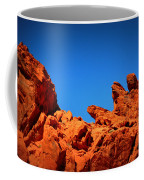 Valley Of Fire Nevada Desert Rock Lizards Coffee Mug