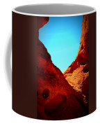 Valley Of Fire Nevada Desert Sand People Coffee Mug