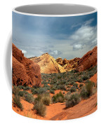 Valley Of Fire Coffee Mug by Robert Bales