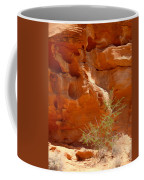 Valley Of Fire Rock Formation Coffee Mug