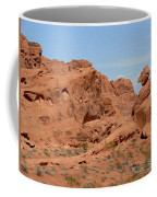Valley Of Fire Rock Formations Coffee Mug
