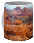 Valley Of Monuments At Dawn Coffee Mug