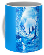 Valley Of The Castles Painting Coffee Mug