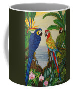 Valley Of The Wings Hand Embroidery Coffee Mug