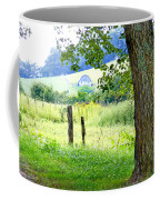 Valley View Along Flat Creek Rd Coffee Mug