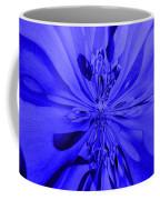Values In Blue Coffee Mug