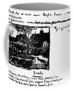 Van Gogh Letter Coffee Mug