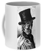 Man With Top Hat Coffee Mug