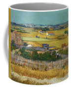 Van Gogh Wheatfield 1888 Coffee Mug