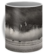 Vancouver Skyline With Fog Over English Bay Coffee Mug