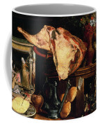 Vanitas Still Life Coffee Mug by Pieter Aertsen