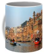 Varanasi From The Ganges River Coffee Mug