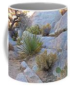 Varied Desert Flora Along Barker Dam Trail In Joshua Tree Np-ca Coffee Mug