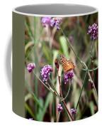 Variegated Fritillary Butterfly Coffee Mug