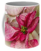 Varigated Poinsettia Coffee Mug