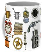 Various Object - Signs - Icons Coffee Mug