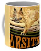 Varsity Blanket Coffee Mug by Molly Poole