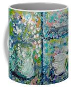 Vase And Demitasse Coffee Mug