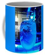 Vase Impression Bluish Coffee Mug