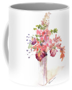 Vase Of Dried Flowers Coffee Mug