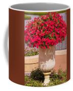 Vase Of Petunias Coffee Mug