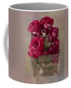 Vase Of Roses Coffee Mug