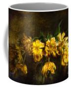 Vase Of Yellow Tulips Coffee Mug