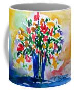 Vase With Flowers Coffee Mug