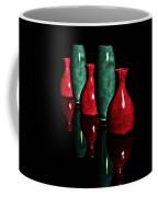 Vases In Dark Coffee Mug