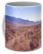 Vast Desolate And Silent - Lyon Nevada Coffee Mug