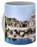 Vatican City Seen From Tiber River Coffee Mug