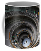 Vatican Spiral Staircase Coffee Mug by Inge Johnsson