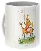 Vayu, Engraved By C. De Motte Coffee Mug