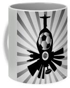 Vector Rio De Janeiro With Jesus Redeemer Coffee Mug