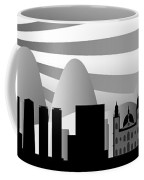 vector Rio skyline with ball Coffee Mug