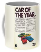 Vega - Car Of The Year 1971 Coffee Mug