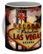 Vegas Destructed Coffee Mug