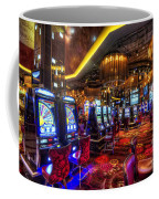 Vegas Slot Machines Coffee Mug by Yhun Suarez