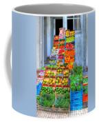 Vegetable And Fruit Stand Coffee Mug