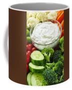 Vegetables And Dip Coffee Mug