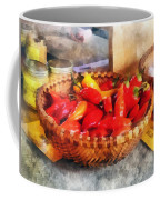 Vegetables - Hot Peppers In Farmers Market Coffee Mug
