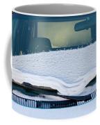 Vehicle Windshield Fresh Snow Thawing Coffee Mug