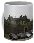 Vehicles At The Parking Lot Of Stirling Castle Coffee Mug