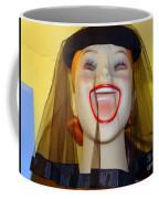 Veiled Laugh Coffee Mug