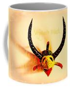 Vejigante Mask Coffee Mug by Lilliana Mendez